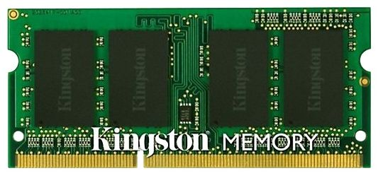Модули памяти KINGSTON 2GB PC12800 DDR3 SO KVR16S11S6/2